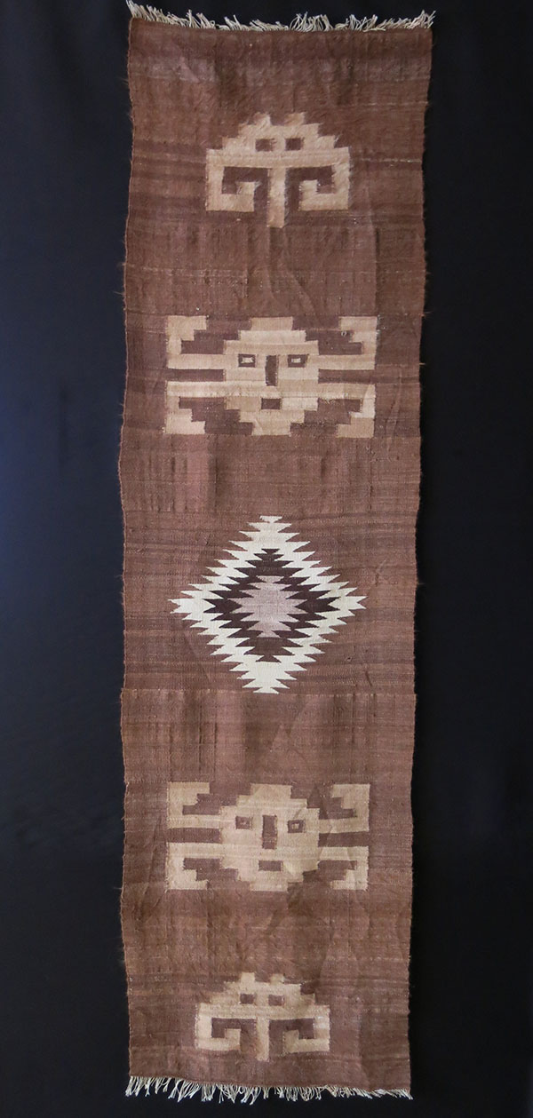 IRAN KURDISTAN - Markhoz Angora wool woven wall hanging