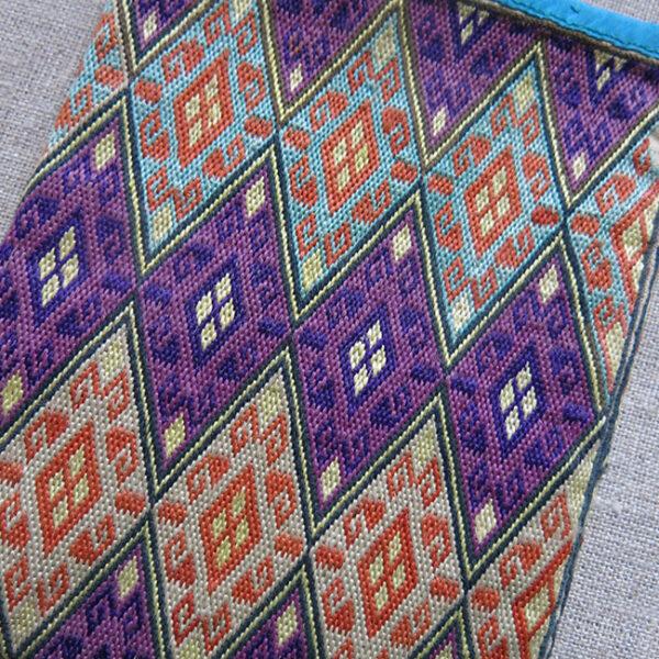 AFGHANISTAN HAZARA tribal personal silk embroidered bag