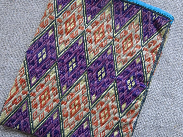 AFGHANISTAN HAZARA tribal personal silk embroidered bag