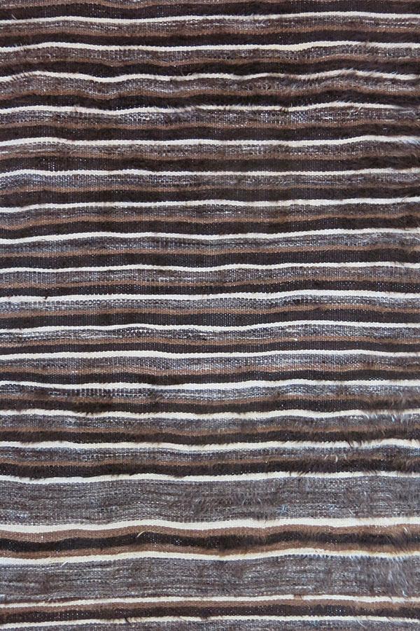 EASTERN TURKEY - SIIRT Angora goat wool woven kilim / blanket