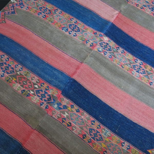 WOOL KURDISH KILIM - Eastern Turkey – HAKKARI near IRAQ border