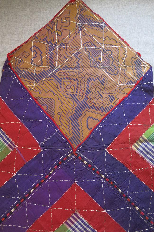 TURKMENISTAN – YOMUD - GOKLAN Tribal Silk Bokhca