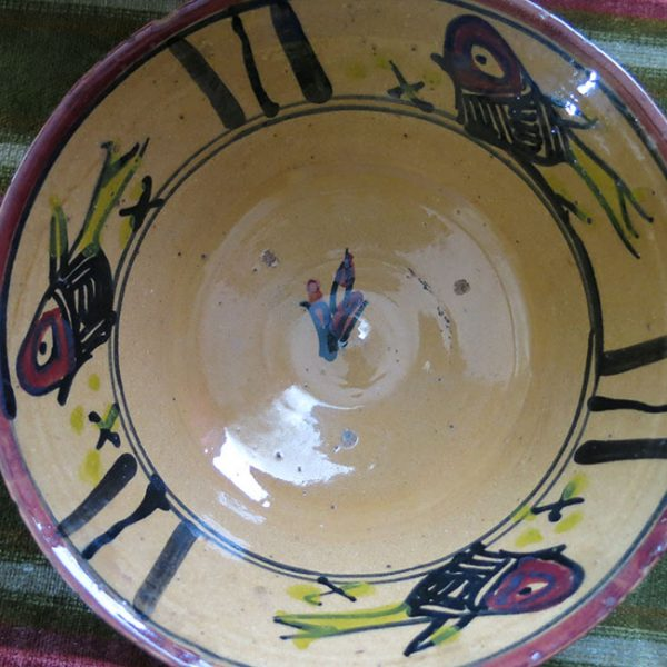 ANATOLIA - GALLIPOLI / TROY - Canakkale ceramic glazed bowl
