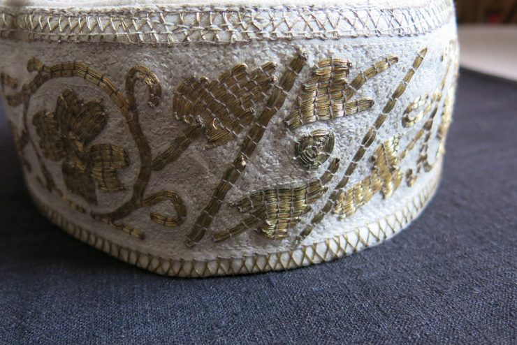 BALKAN - BOSNIA / KOSOVO metallic embroidered ethnic hat