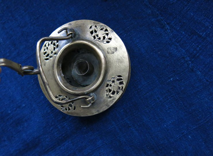 EASTERN TURKEY - ERZURUM - OTTOMAN Hand forged bronze lantern