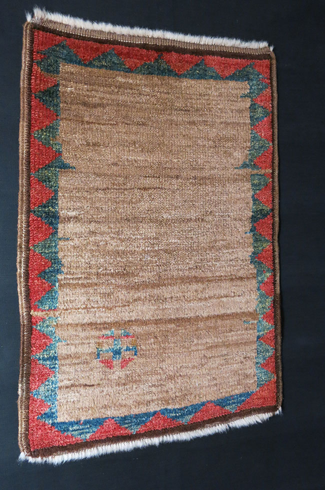 ANATOLIA - KONYA tribal Turkmen camel hair woven mat