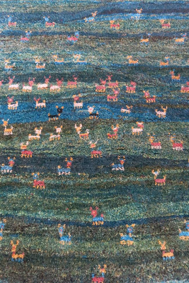 QASHKAI - Turkish tribal all wool - natural dyes rug