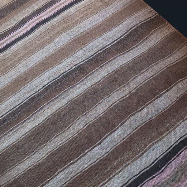 EASTERN TURKEY - LAKE VAN KURDISH plain weave all wool Kilim