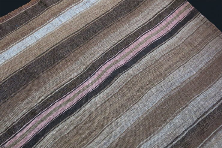 EASTERN TURKEY - LAKE VAN KURDISH plain weave all wool Kilim