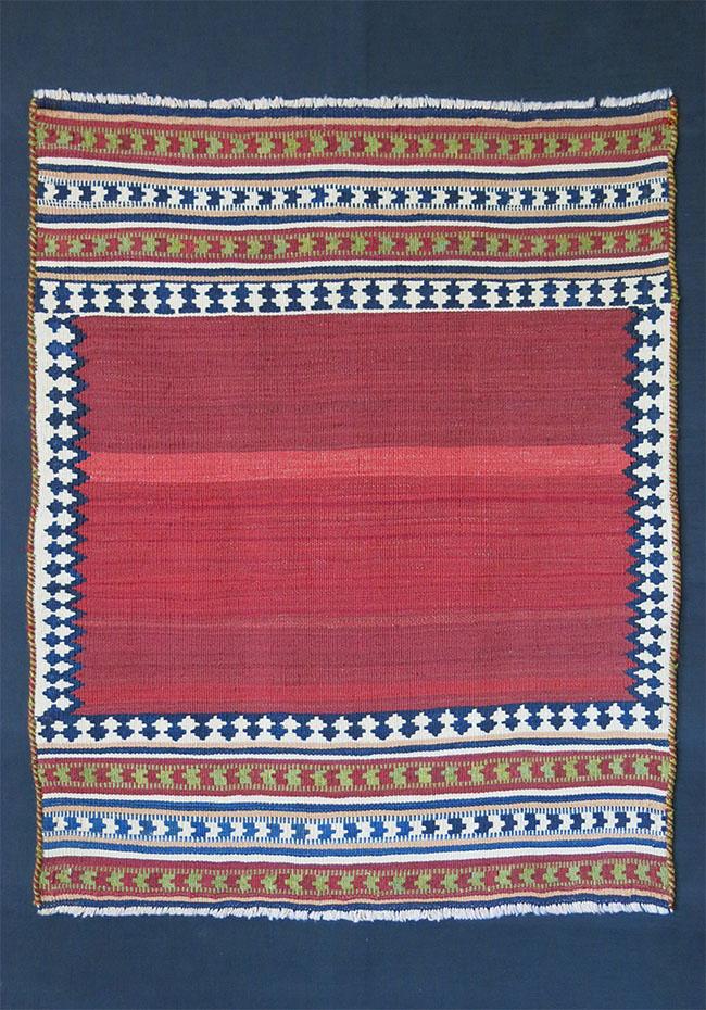 Southwest of PERSIA - QASHKAI tribal mini ceremonial kilim