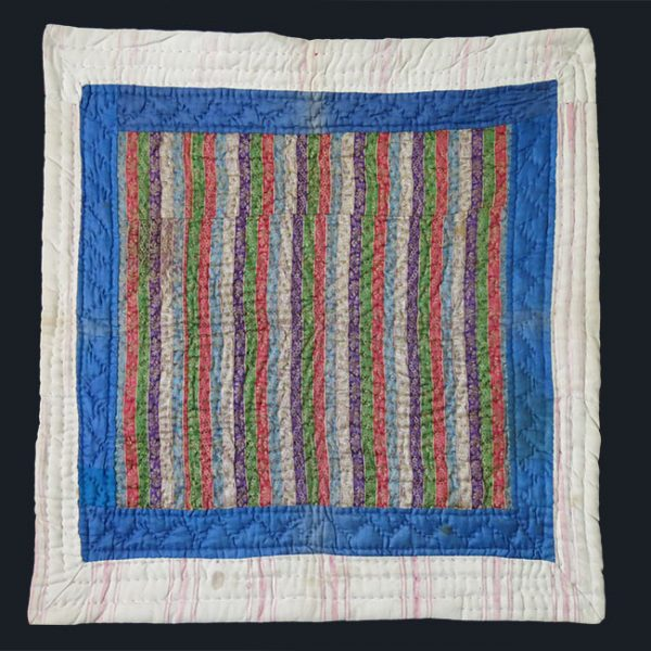 ANATOLIA - ISTANBUL - Ottoman baby silk and cotton blanket