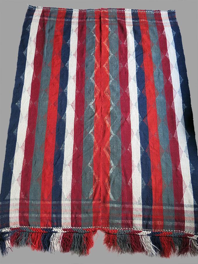 QASHKAI – IRAN FARS PROVINCE - MOJ / Cover twill weave tribal wool kilim