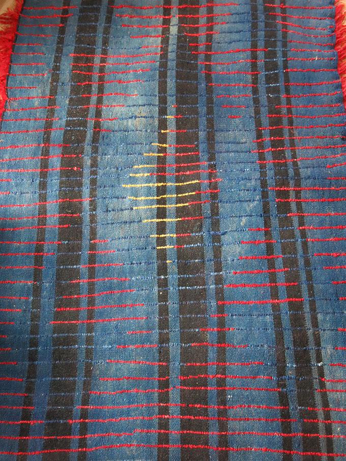 ANATOLIAN KONYA - Karapinar Tuylu - Tulu shaggy angora Kilim rug