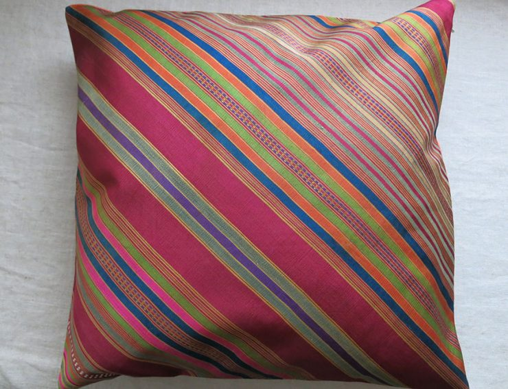 AFGHANISTAN SILK hand loomed pillow cover