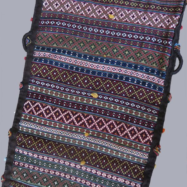 QASHKAI Southwest Persia tribal double sided migration bag