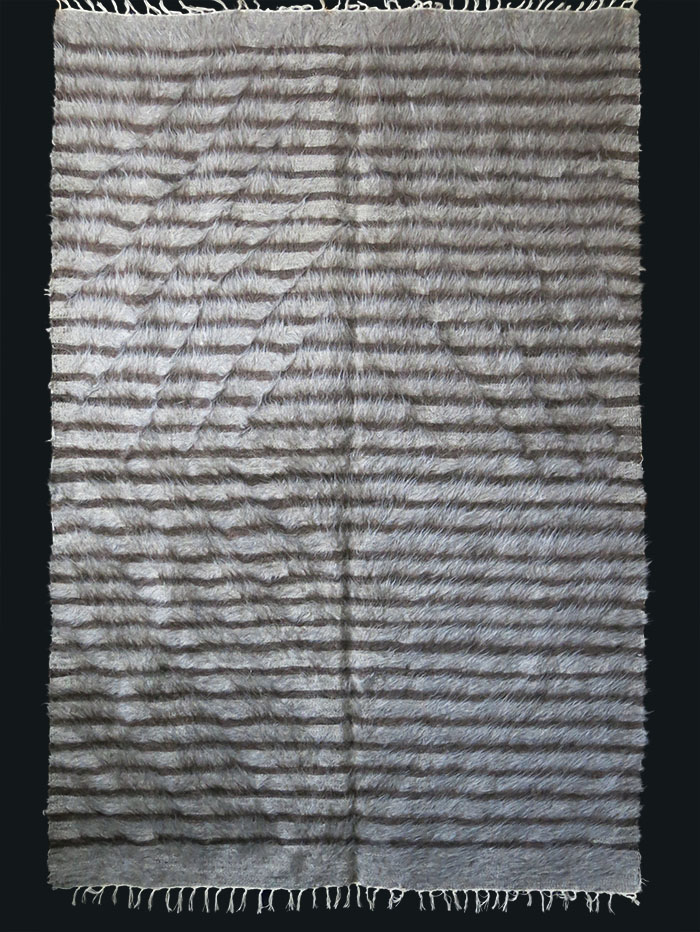 South EASTERN TURKEY – SIIRT Kurdish angora blanket