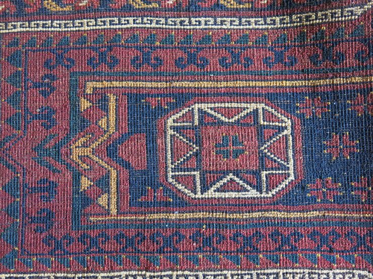 Turkmen Ersary tribal all wool torba