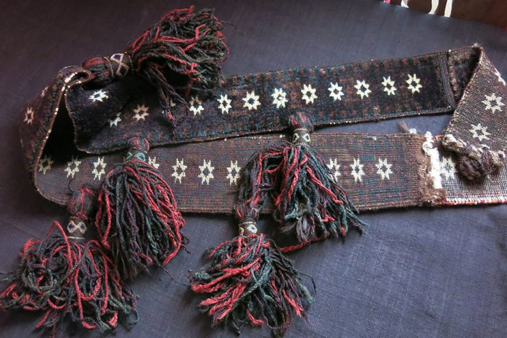 AFGHANISTAN - BALUCH tribal ceremonial animal neck trapping