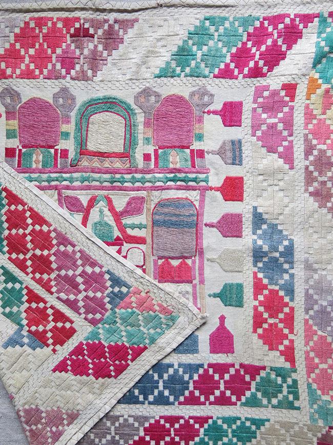 AFGHANISTAN - MEZAR-I SHERIF HAZARA Embroidery on cotton