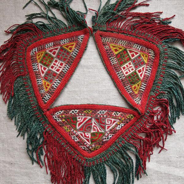 TURKMEN CHODOR tribal talismanic hanging