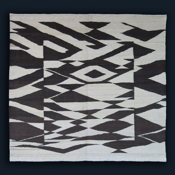 EASTERN TURKEY – DOGUBEYAZIT Mt. ARARAT KURDISH natural wool KILIM