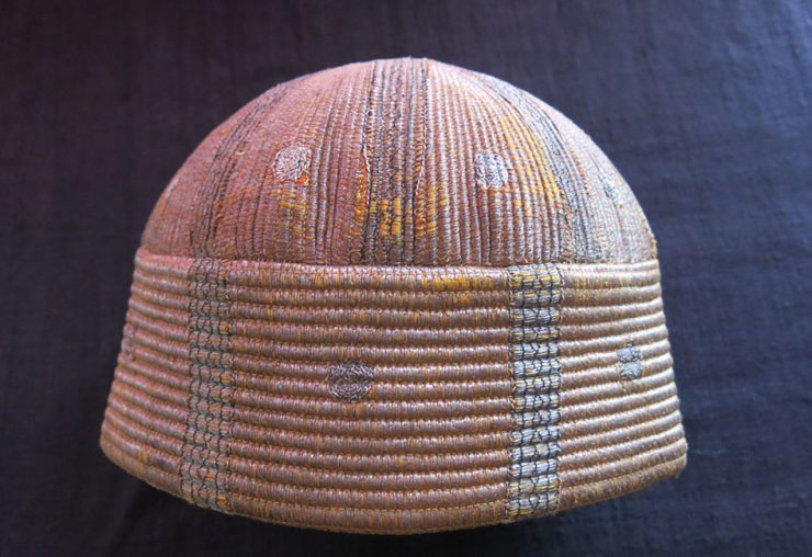 AFGHANISTAN – KHYBER PASS Tribal Metallic embroidered ethnic hat