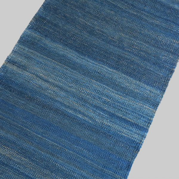 EASTERN TURKEY – KURDISH indigo KILIM from Mt. ARARAT