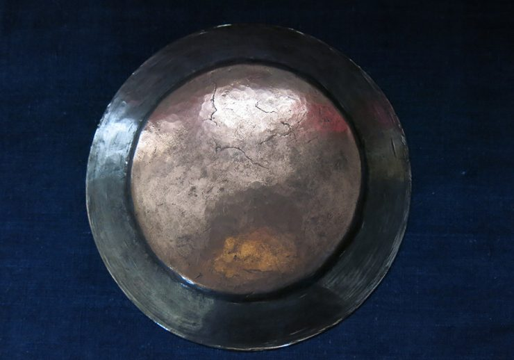 TURKEY Central ANATOLIA – Ottoman hand forged copper plate