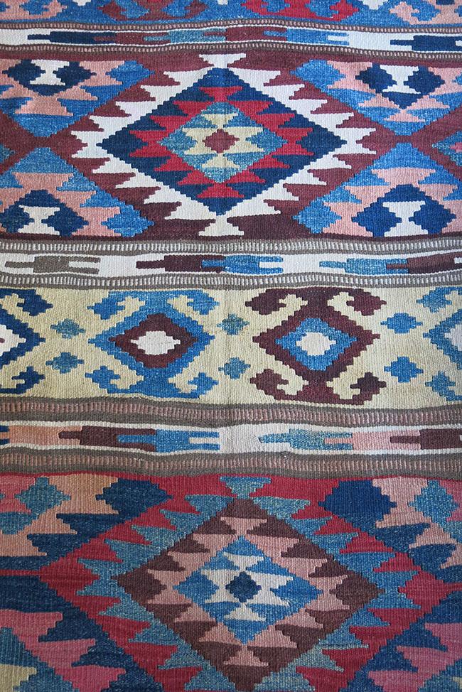 AZERBAIJAN - SHAHSAVAN tribal wool kilim