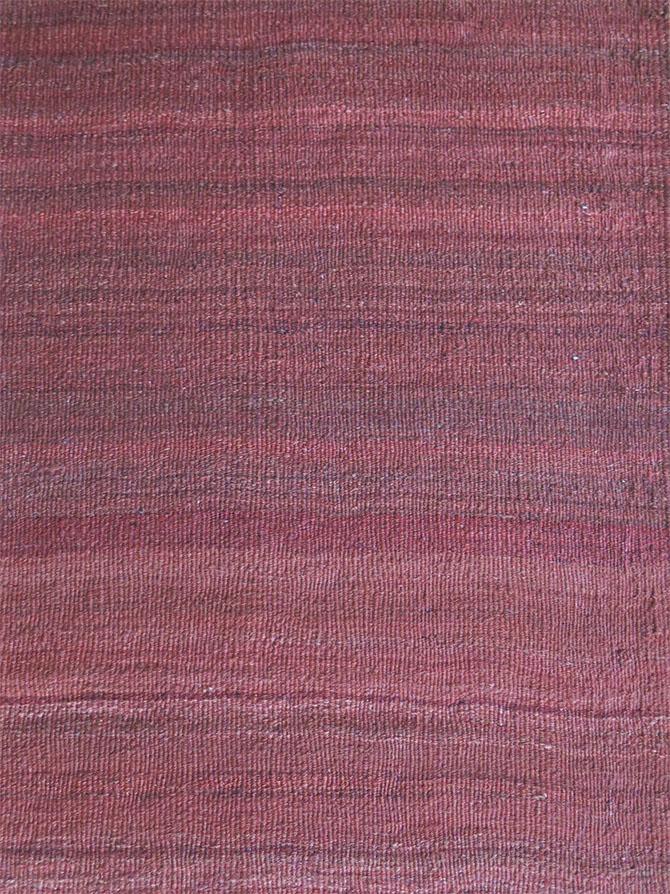 EASTERN TURKEY – KURDISH all wool madder color kilim from Mt. ARARAT