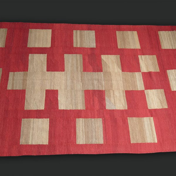 EAST ANATOLIA - Turkey KURDISH WOVEN all wool KILIM