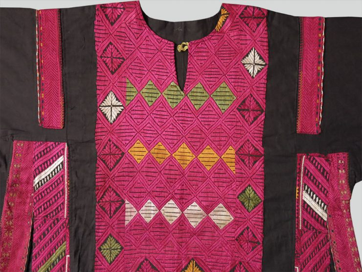 PAKISTAN - SWAT Valley tribal embroidered woman dress