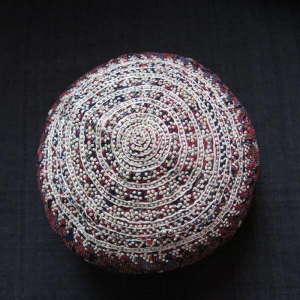 AZERBAIJAN - ARAKHCHYN – Ordubad Village ethnic silk embroidery hat