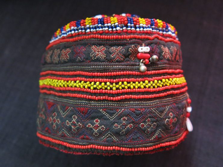 PAKISTAN – KOHISTAN CITRAL tribal embroidered child hat