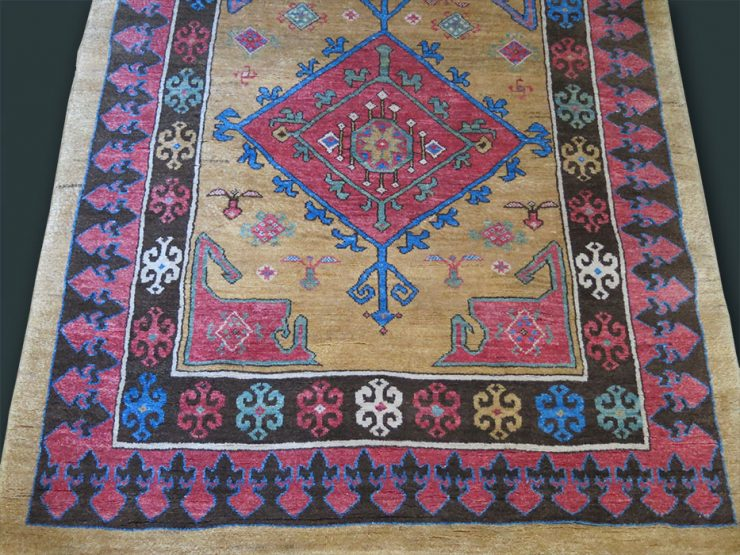 ANATOLIAN KONYA KARAPINAR wool on cotton RUG