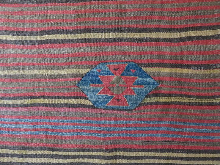 ANATOLIA - KONYA tribal eating mat, Sofreh kilim