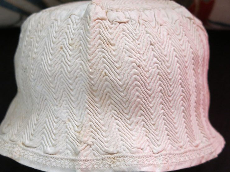ANATOLIAN – TRACE, EDIRNE hand quilted fine cotton night cap