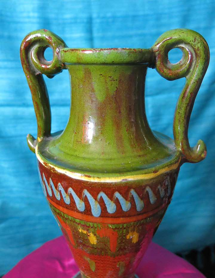ASIA MINOR TROY GALLIPOLI - CANAKKALE clay CERAMIC VASE