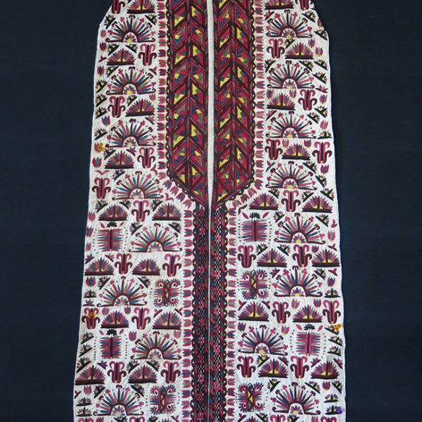 TURKMENISTAN TEKKE white women's Chirpy / cape front fragment