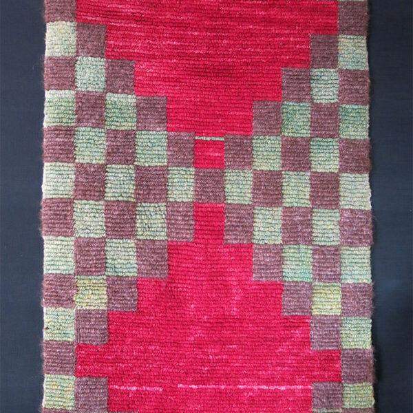ANATOLIAN KONYA Turkmen tribal loop knotted tulu rug