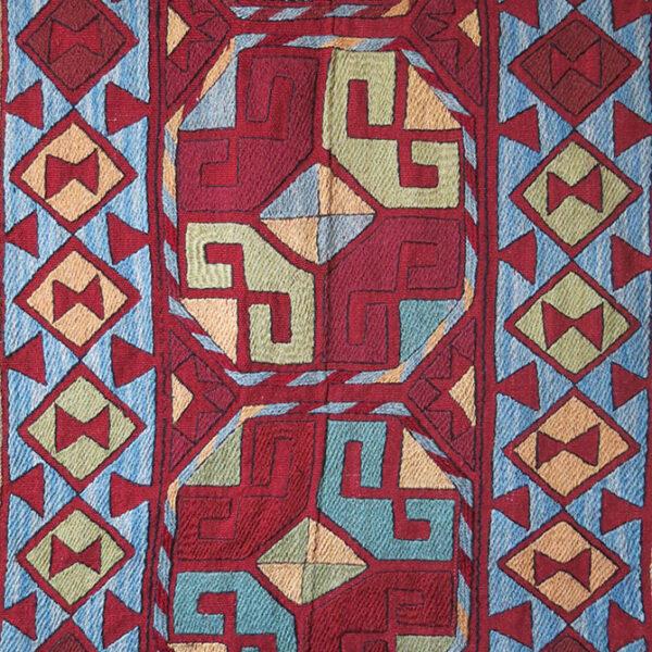 AFGHANISTAN LAKAI wool hand woven kilim runner