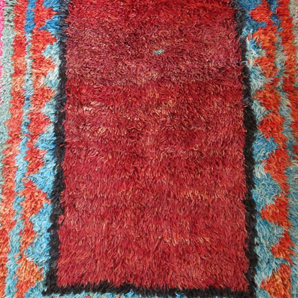 ANATOLIA - DAZKIRI - PAMKKALE Tulu - Shaggy all wool tribal rug