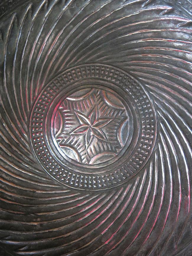 ANATOLIAN - EAST TURKEY tinned Copper bathing bowl