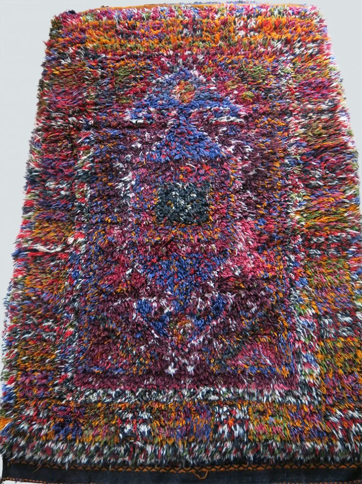 ANATOLIA - KONYA TAURUS Mt. Turkmen tribal All wool sleeping Rug