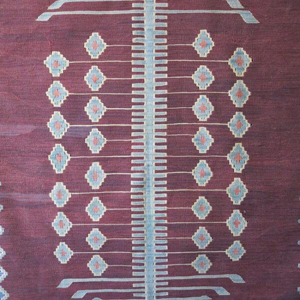 ANATOLIAN KONYA - OBRUK Turkmen all wool Kilim