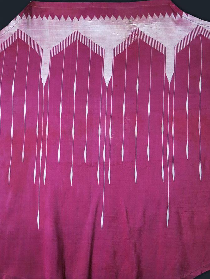 SYRIAN - ALEPPO silk hand loomed cape