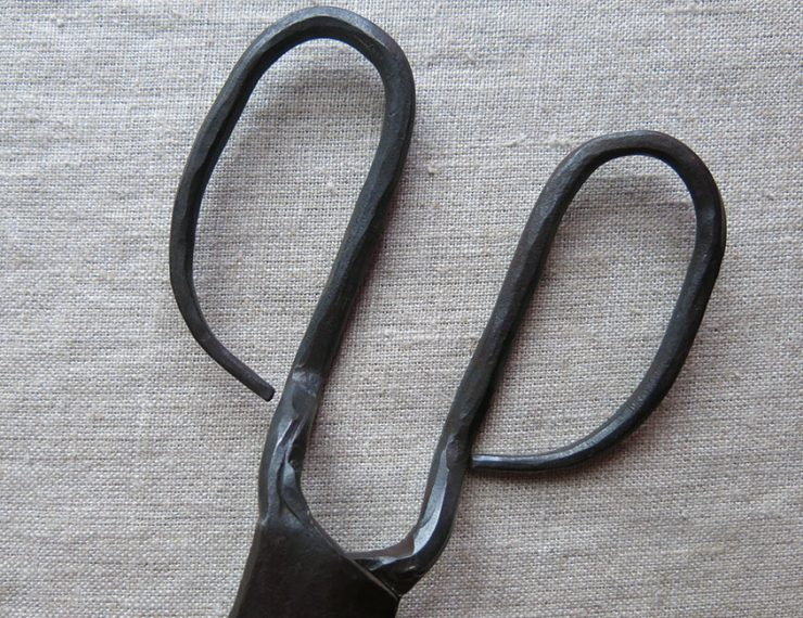 ANATOLIAN KONYA handmade iron carpet scissors
