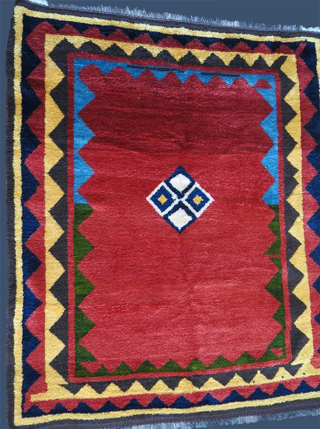 QASHKAI GABBEH Tribal all wool rug