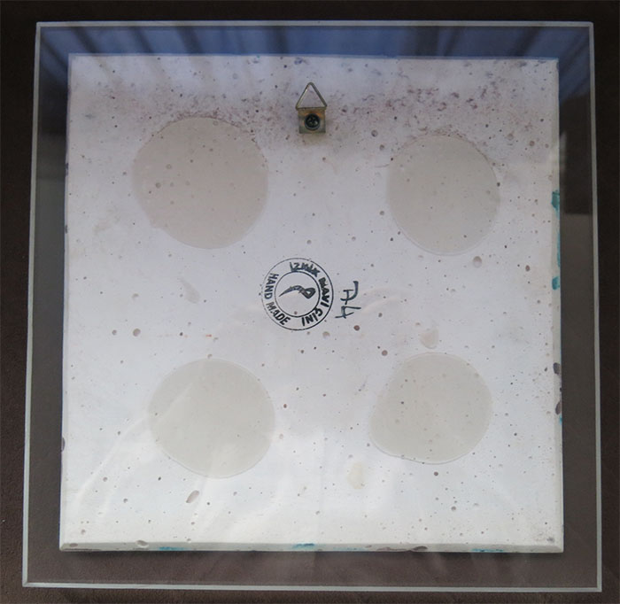 ANATOLIAN IZNIK quarz square ceramic