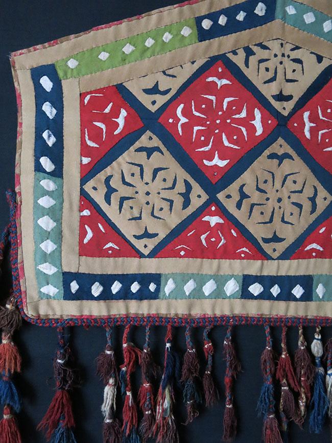 TURKMEN ASMALYK tribal wedding camel trapping
